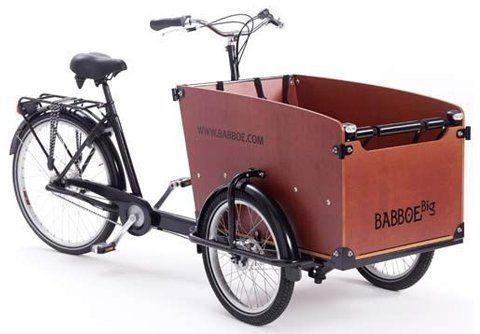 Babboe ladcykel billede
